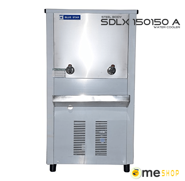 blue star water cooler SDLX 15150 B (150 liter storage) price and specification.