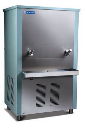 Blue star water cooler NST 170150 partially steel body