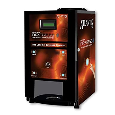 Atlantis air touch tea and coffee vending machine