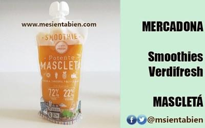 MERCADONA SMOOTHIE VERDIFRESH: MASCLETA
