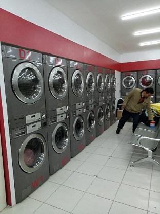mesin laundry coin lg 2