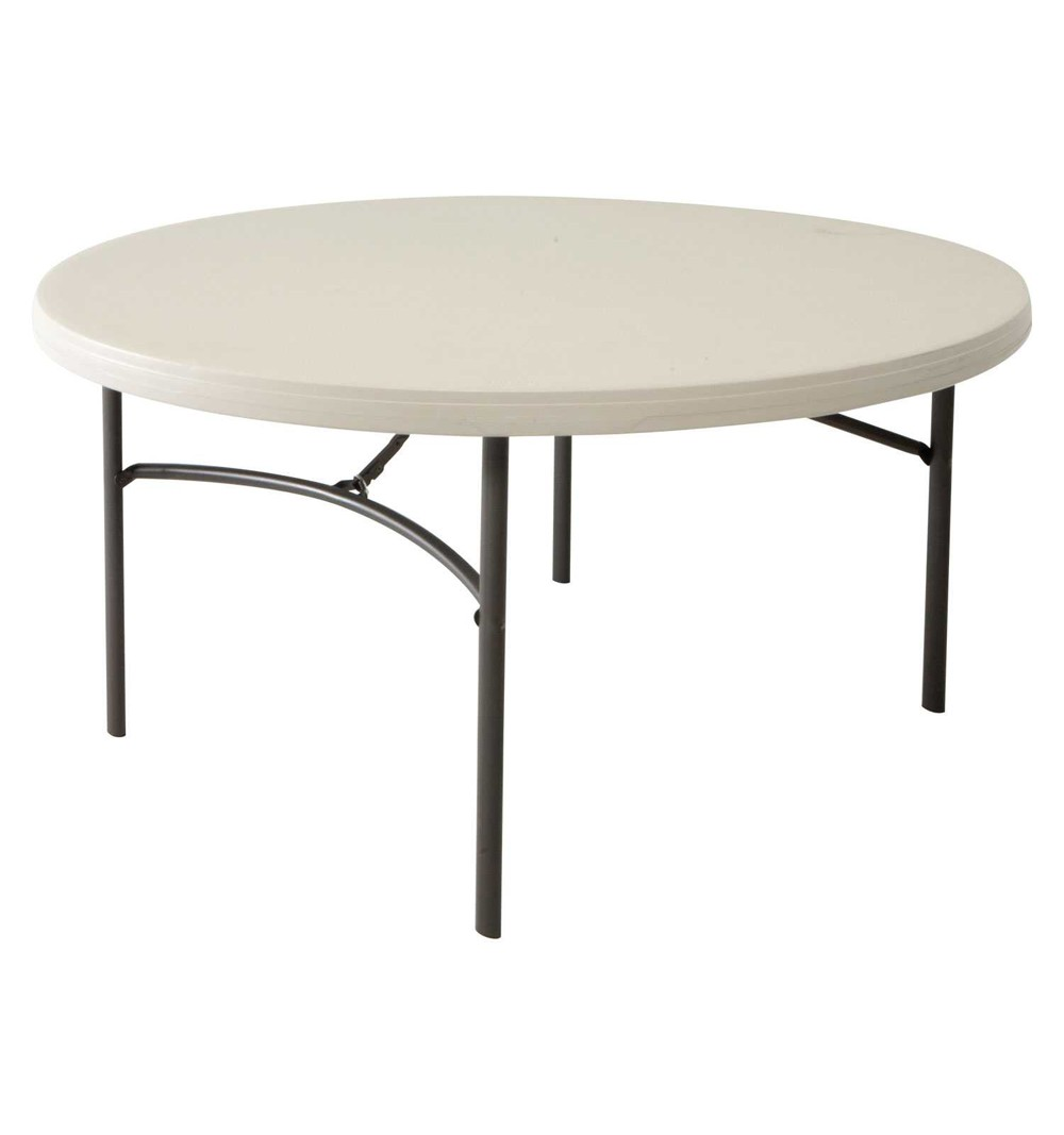 table ronde pliante table ronde pliante polyethylene diametre 150cm