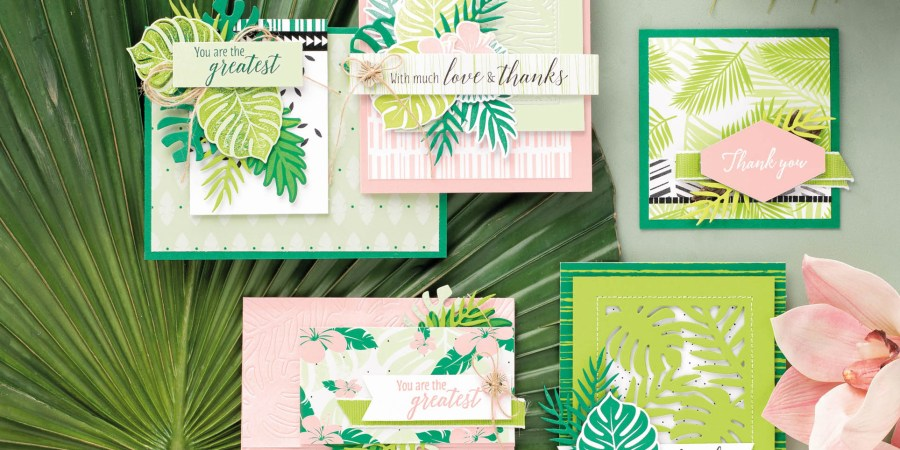 escapade tropicale stampin up