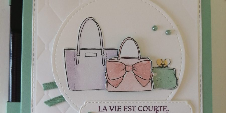mini carnet stampin up