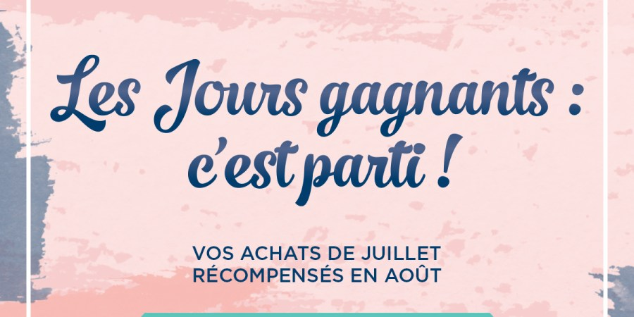 Jours gagnants Stampin'Up!