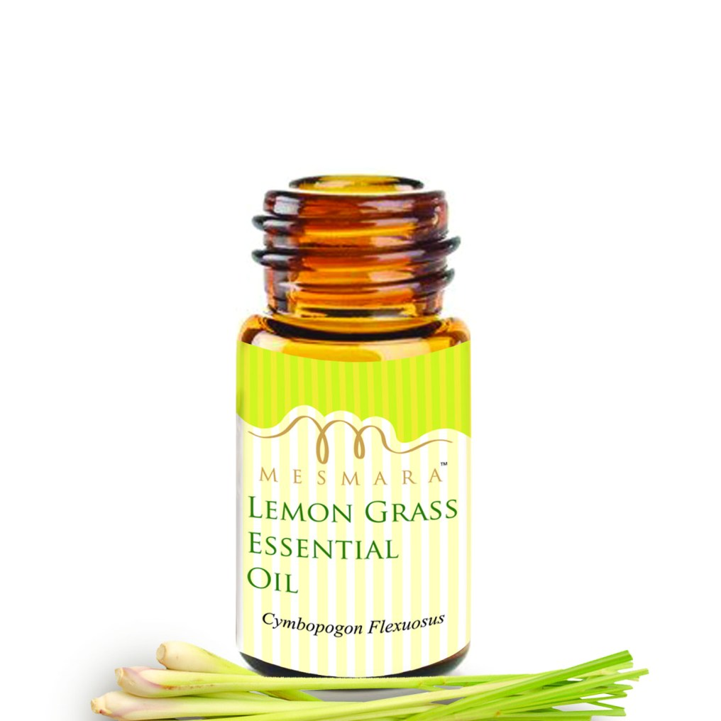lemon grass oil bottle