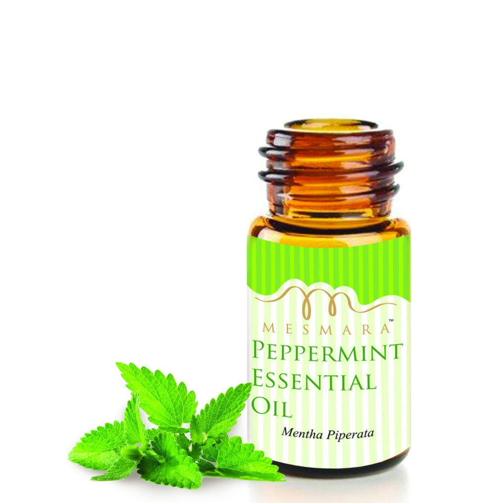 peppermint oil bottle