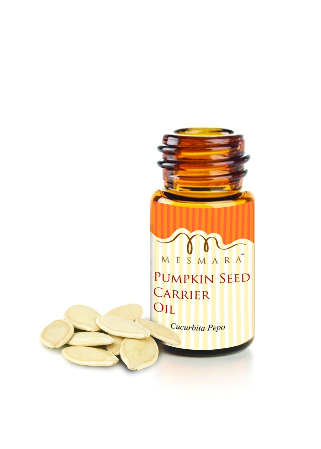 pumpkin seed oil bottle