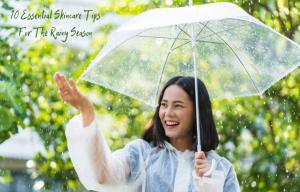 monsoon skincare tips