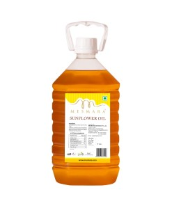 Mesmara Sunflower Oil 5L Back