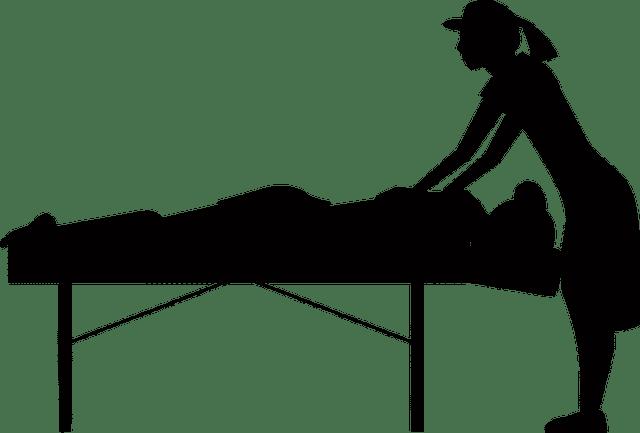 Images vectorielles coussin de massage