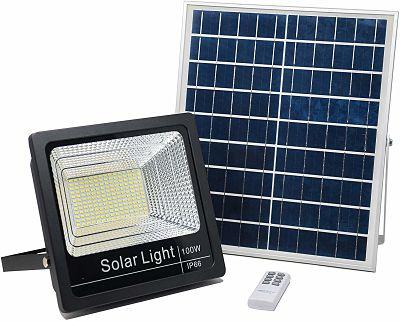 Projecteur LED Solaire 100W