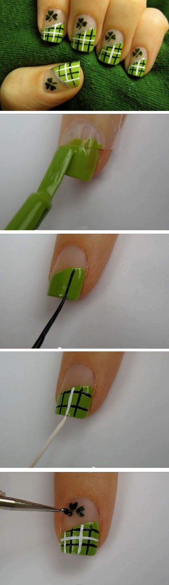 6 Super Cute Nail Designs Tutorials