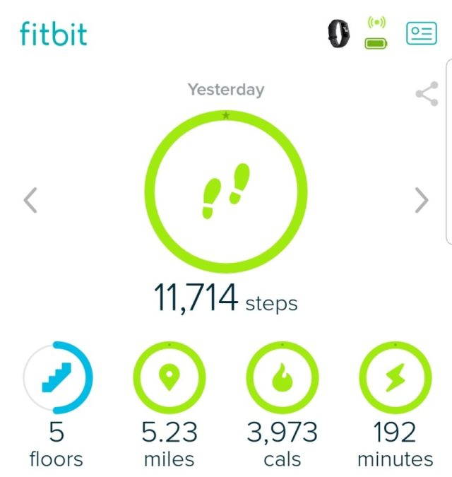 FitBit and your health. Fitbit monitors your exercise patterns.