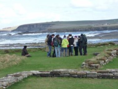 Visitors to Brisay