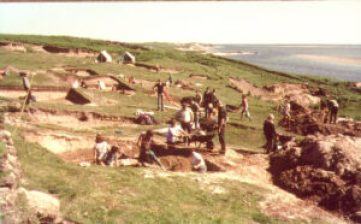Excavating in the 1970s