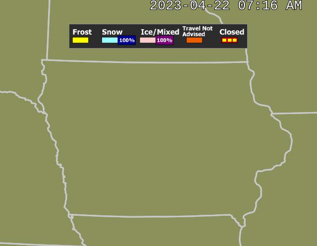 Conditions Iowa Road 511