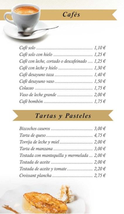 cafeteria A6 carretera madrid coruña