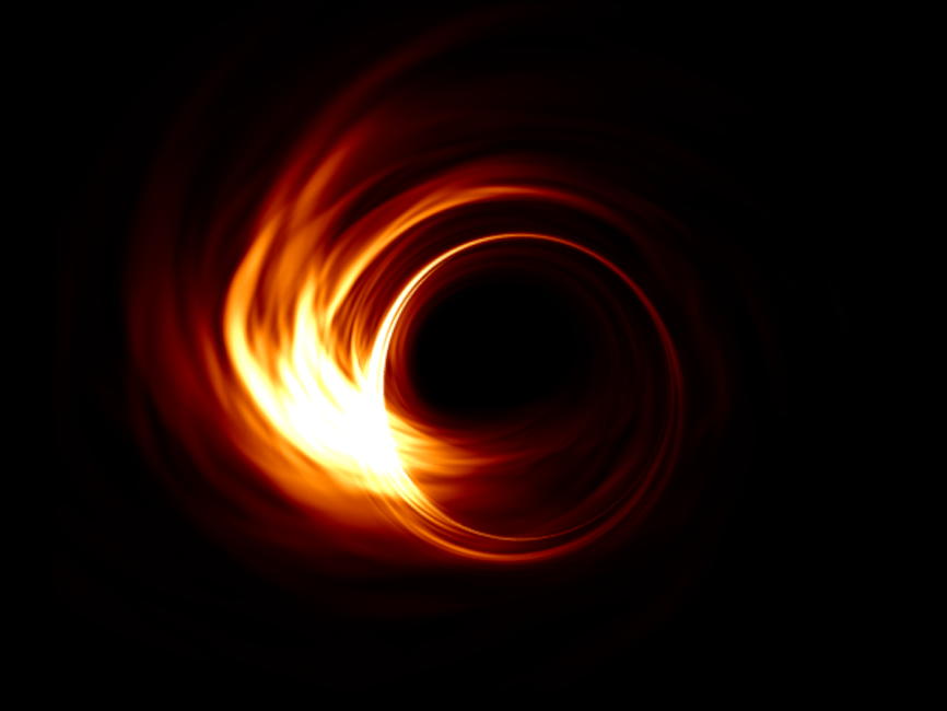 BLACK HOLE SIZE COMPARISON CHART GIVES NEW VIEW OF UNIVERSE
