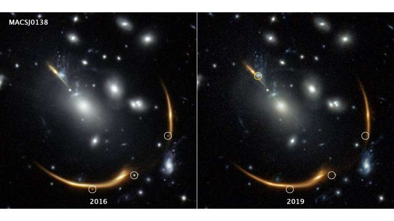 Rerun of supernova blast expected to appear in 2037 /phys.org/