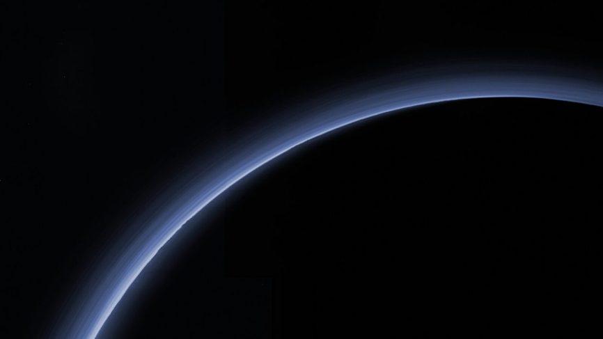 PLUTO'S ATMOSPHERE MAY BE STARTING TO CONDENSE /spaceflightinsider. com /