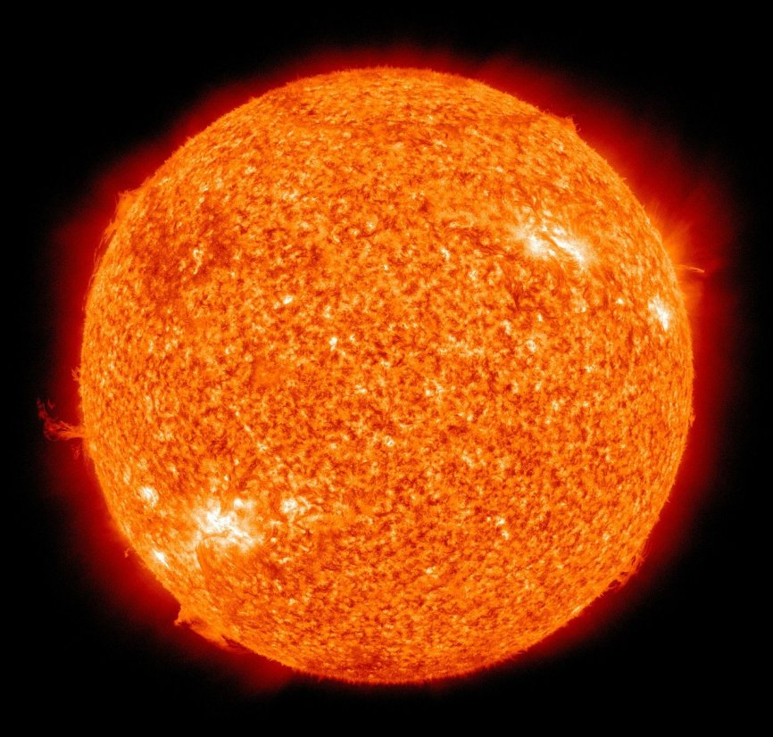 Geomagnetic storm warning as solar flare expected to directly hit Earth today /news. sky. com/