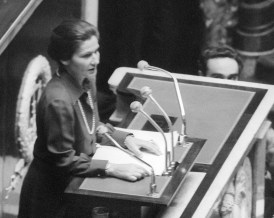Simone Veil health ministry since May 1974 under t
