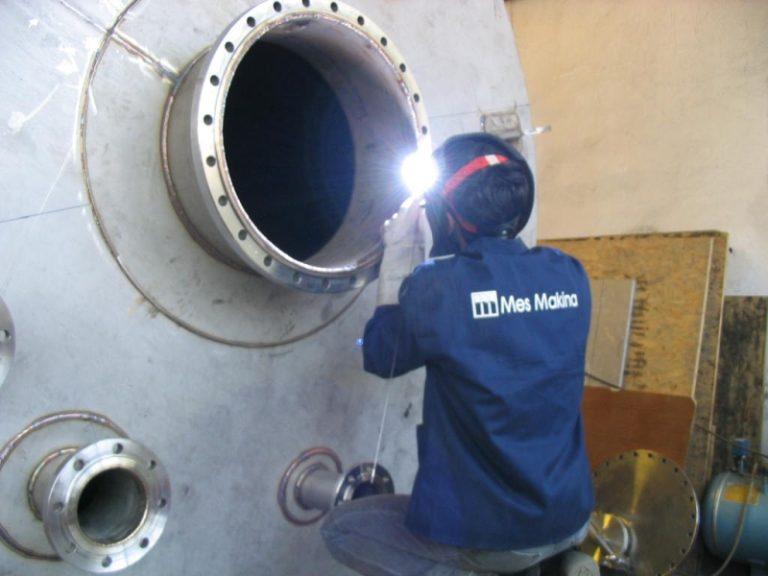 mes makina turkey stainless tank welding