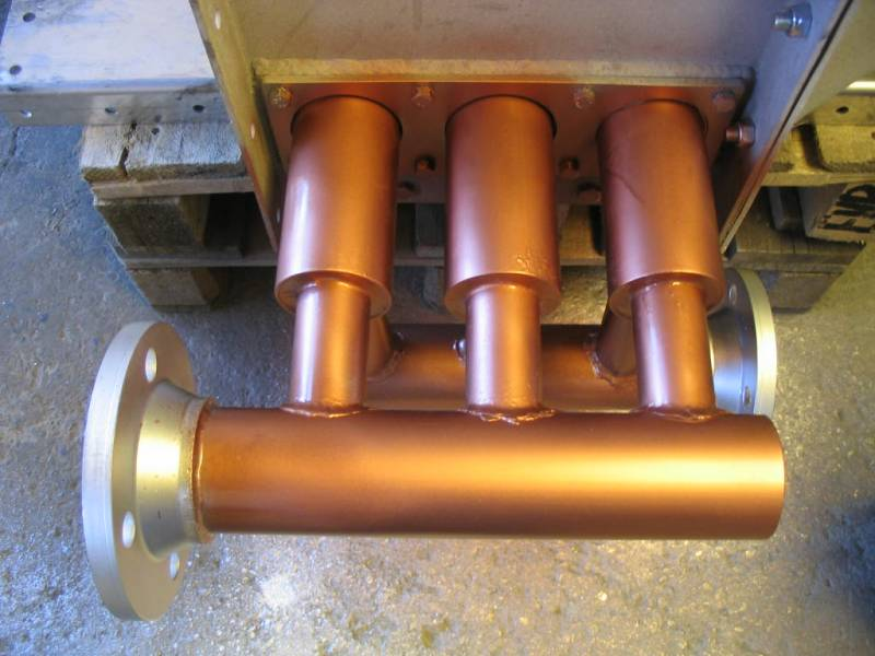 copper heat exchangers manufacturer turkey mes makina