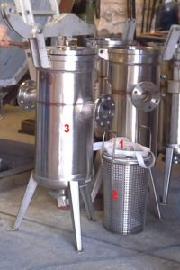 3 fundamental stainless filter elements