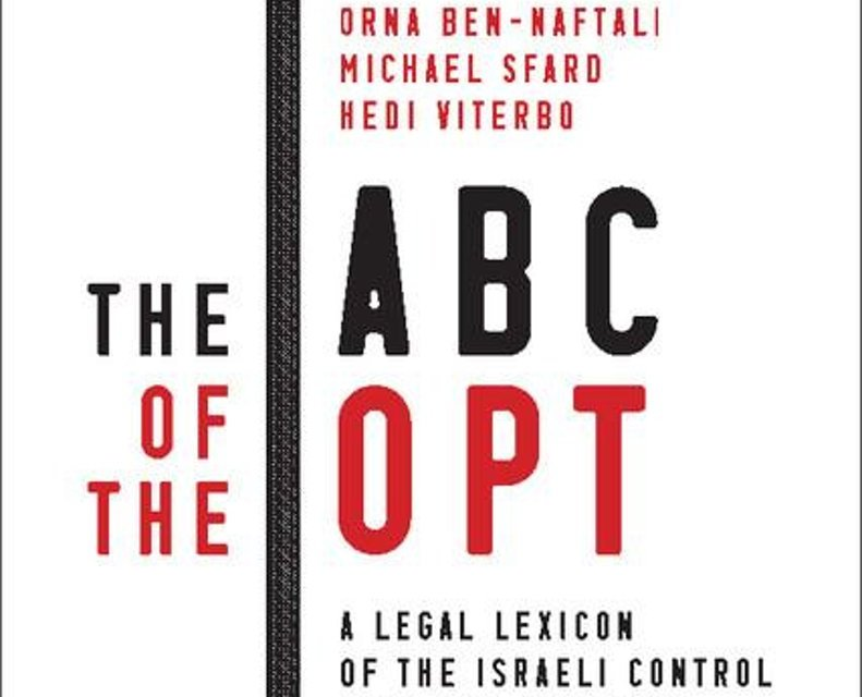 """NEWTON: """"The ABC of the OPT: A Legal Lexicon of the Israeli Control Over the Occupied Palestinian Territory"""""""