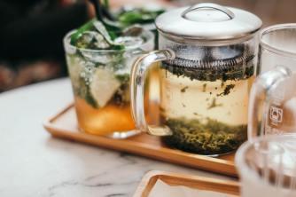 thé miel