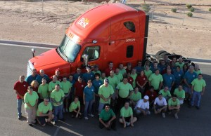 The 65 employees at Do it Best, located at 1450 W. Pioneer Blvd., turned out for this company photo. The co-op is one of Mesquite's largest employers. Courtesy Photo