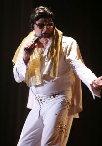 """Claude """"Doc"""" Nielsen will compete in his fifth Elvis Rocks Mesquite event June 22-22 in the CasaBlanca Showroom of the CasaBlanca Resort. Submitted photo."""