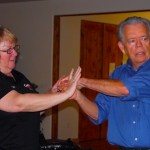 Women learn defensive tactics