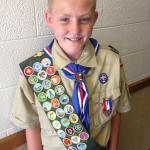Wilson receives Eagle Scout Award