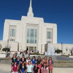 Local Young Women Travel to Ogden Utah Temple Open House