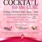 Cocktail for the Cure tonight at the Eureka