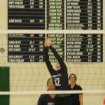 Volleyball gals shut down Tech 3-0 win streak at 11 matches