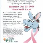 Donkey Rescue to host benefit for Mesquite Cancer Help Society