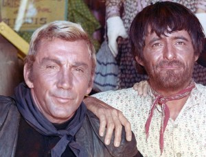 3. Cameron Mitchell and Henry Darrow Shot while filming the second season High Chaparral episode The Glory Soldiers