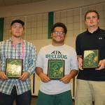 Bulldog football holds annual awards banquet