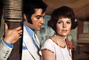 2. Marlyn Mason and Elvis in The Trouble with Girls