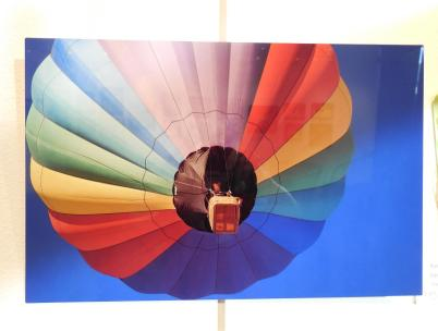 Dave Boyarski's digital photo, Rainbow Rising