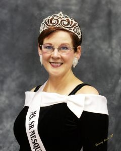 Ms. Senior Mesquite Founder Jean Watkins will be honored this Saturday at Envy Nightclub as the organization celebrates ten successful years in the community. This was Watkins' official photo after winning the first pageant in 2005. Photo courtesy of Delaney Studio.