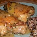 Zesty Braised Chicken Thighs With Capers
