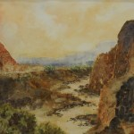 "Last Chance to View ""Geographical Divides"" at the Mesquite Fine Arts Center"