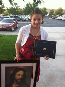 Micayla Teschner, Seminary Graduation. Submitted photo.