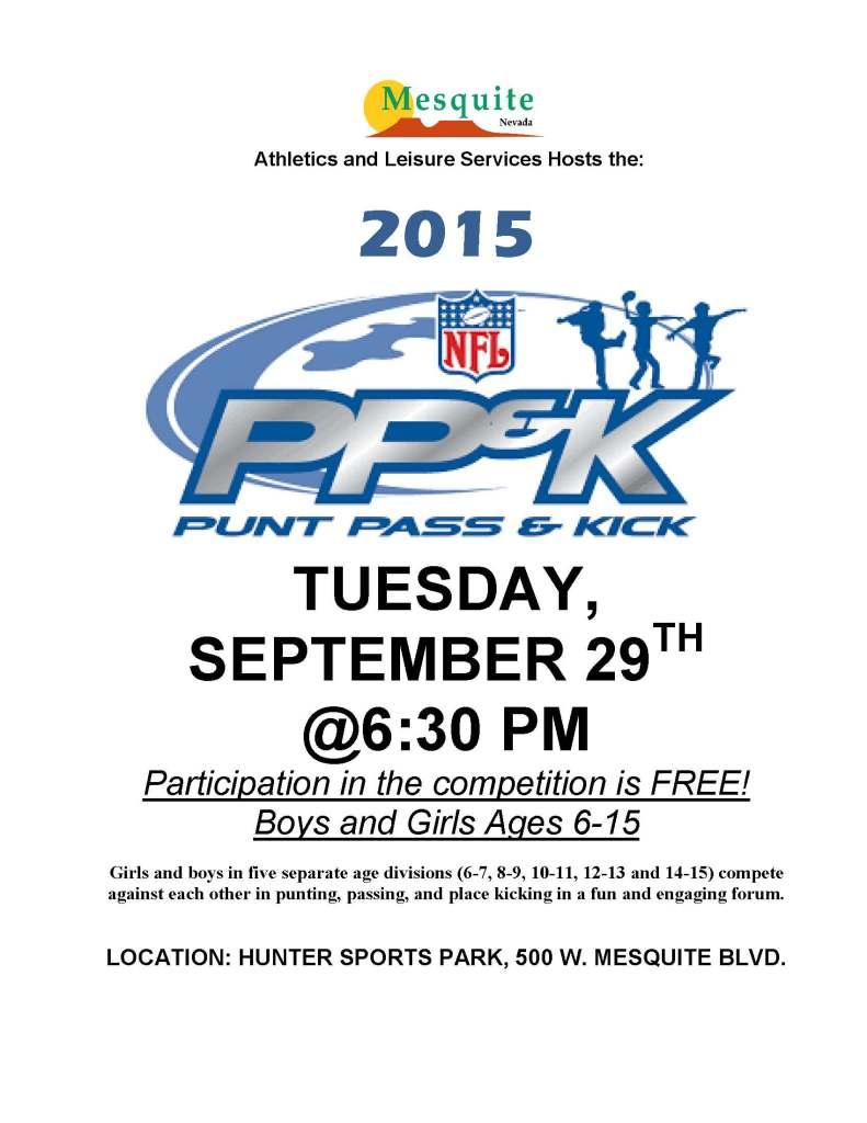 NFL, PPK 2015 Local Comp