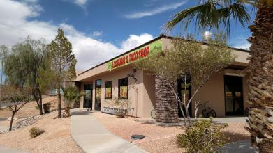 Los Rubios Taco Shop is the newest Mexican Restaurant to hit Mesquite, as seen here from the East side of Falcon Ridge Parkway. Photo by Stephanie Frehner.